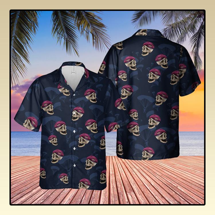 UK parachute regiment hawaiian shirt2