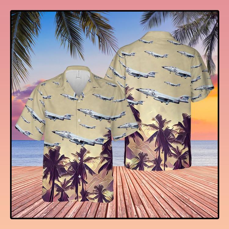 US Air Force McDonnell F 101 Voodoo Hawaiian Shirt3