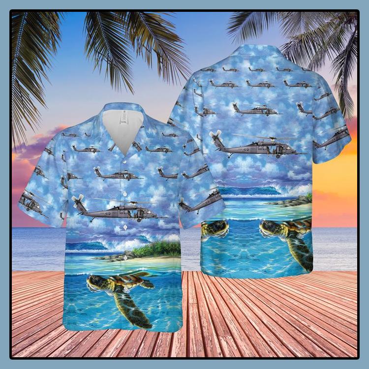 US Air Force New York Air National Guard Hawaiian Shirt1