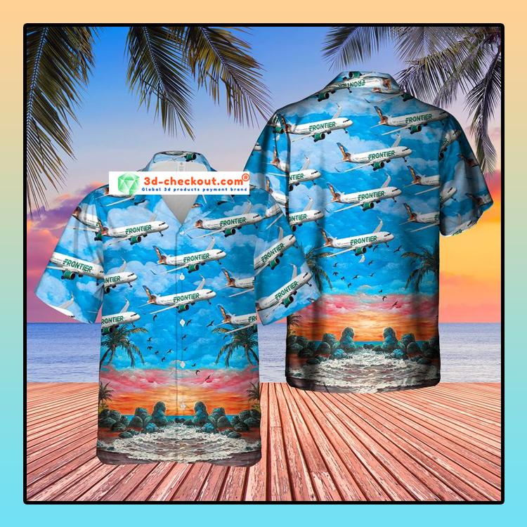 US Airlines 8 Airbus A320 251N Hawaiian Shirt