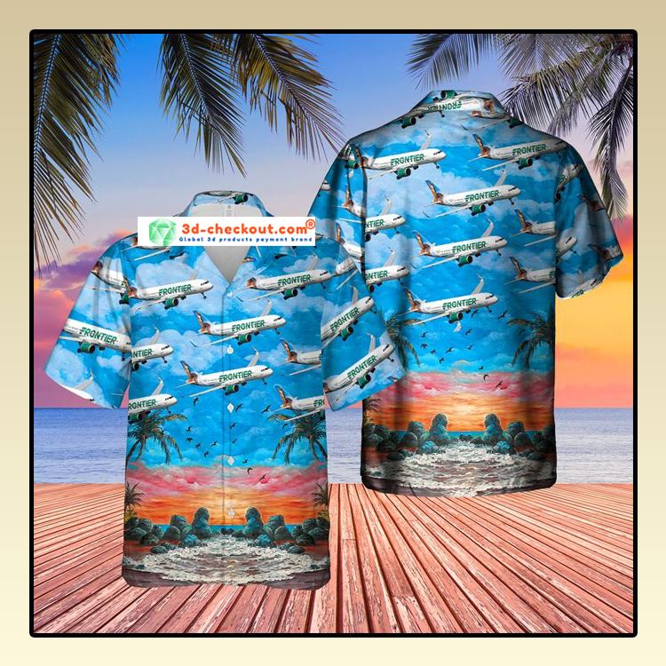 US Airlines 8 Airbus A320 251N Hawaiian Shirt2