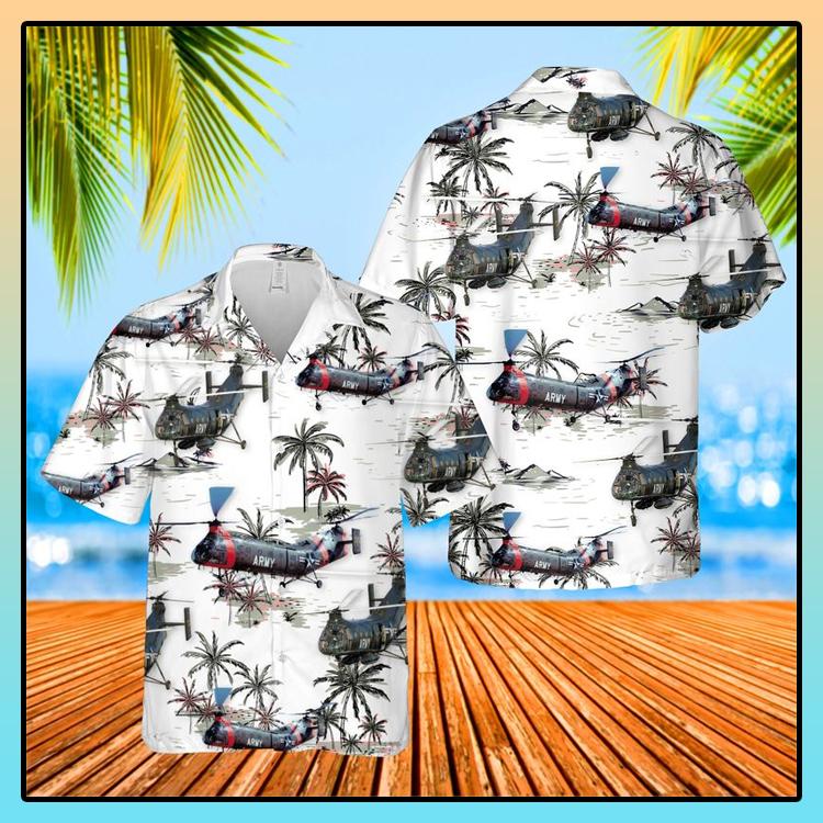 US Army Piasecki H 21 Hawaiian Shirt1