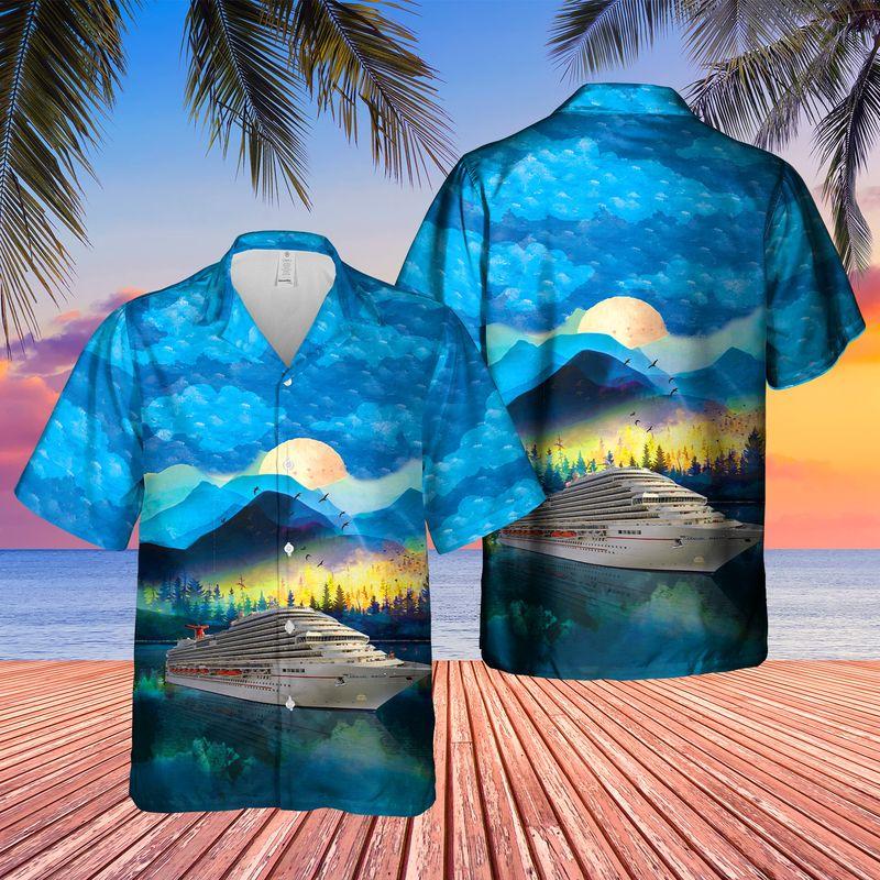 US Cruise Carnival Magic Hawaiian Shirt