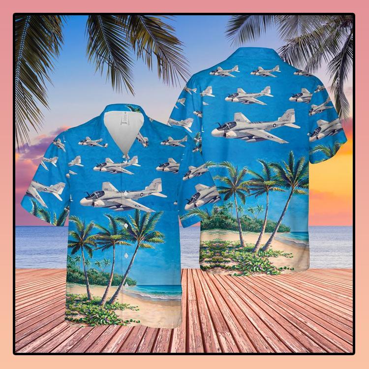 US Navy Grumman A 6 Intruder Hawaiian Shirt3 1