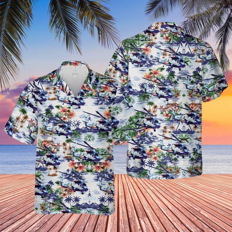 US Navy Kaman SH 2G Super Seasprite Hawaiian Shirt