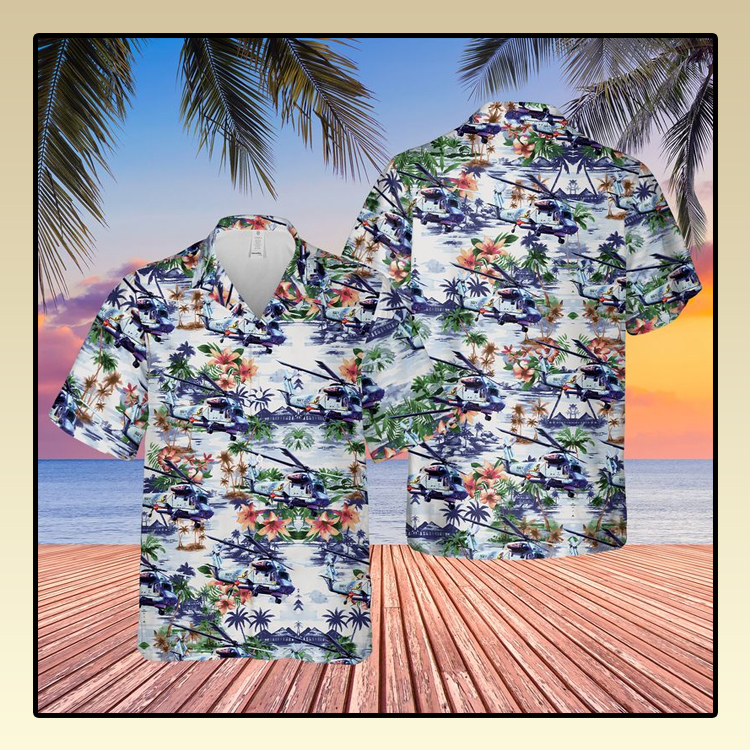 US Navy Kaman SH 2G Super Seasprite Hawaiian Shirt3