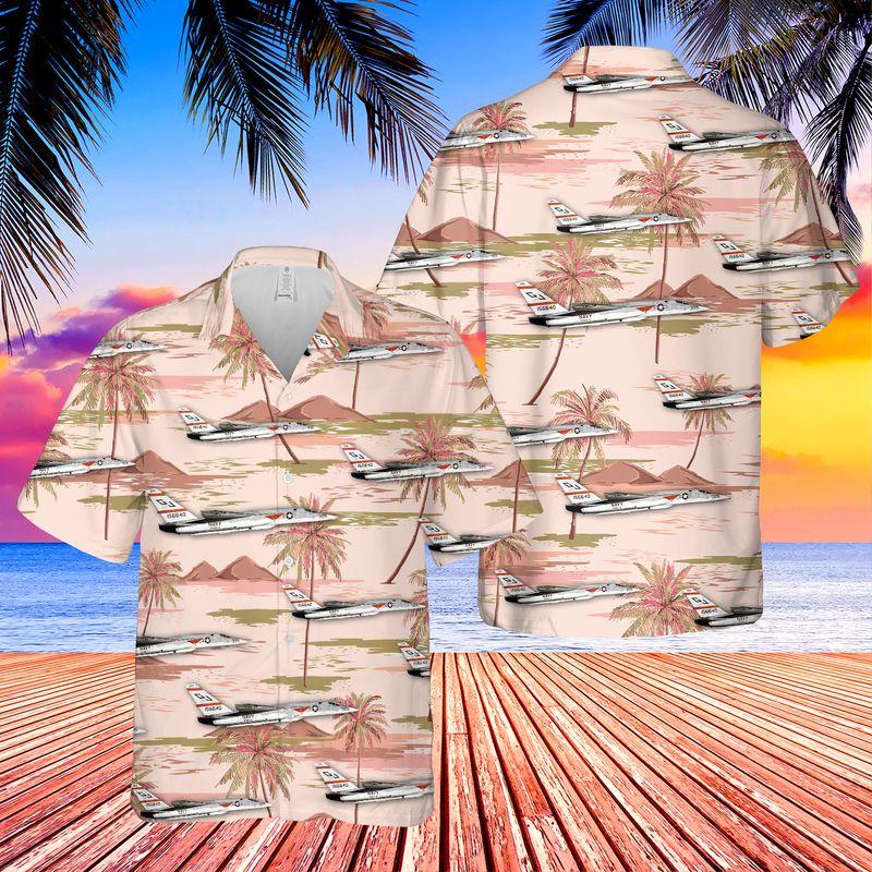 US Navy North American A 5 Vigilante Hawaiian Shirt