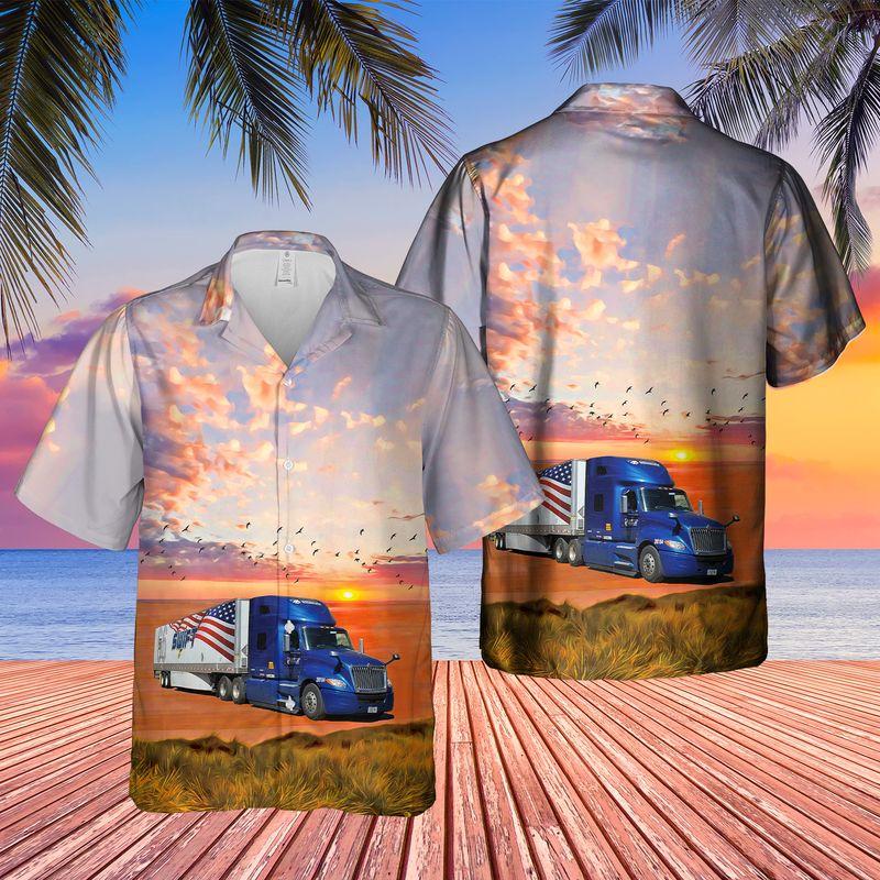 US Swift Truck Hawaiian Shirt 1