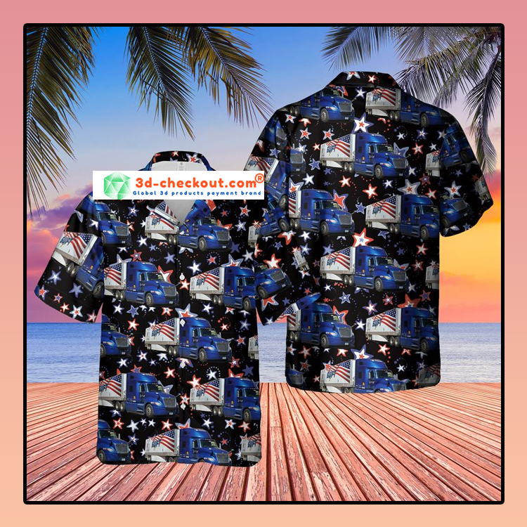 US Swift Truck Hawaiian Shirt