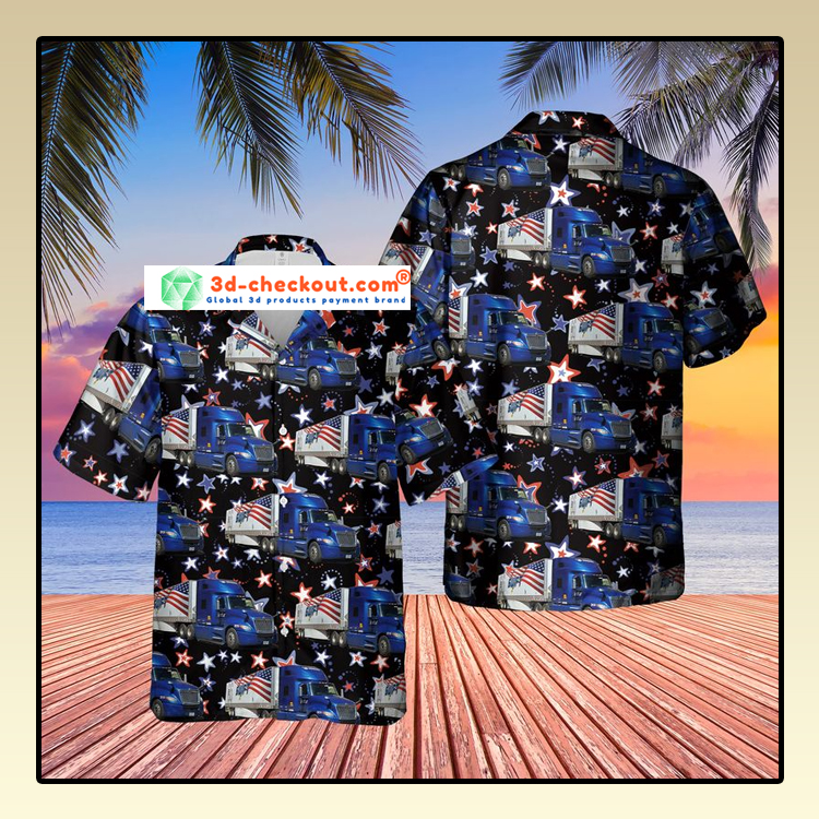 US Swift Truck Hawaiian Shirt2