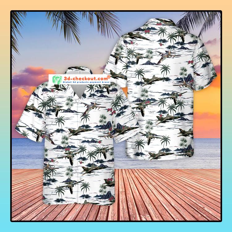 United States Air Force General Dynamics F 111 Aardvark Hawaiian Shirt And Shorts1
