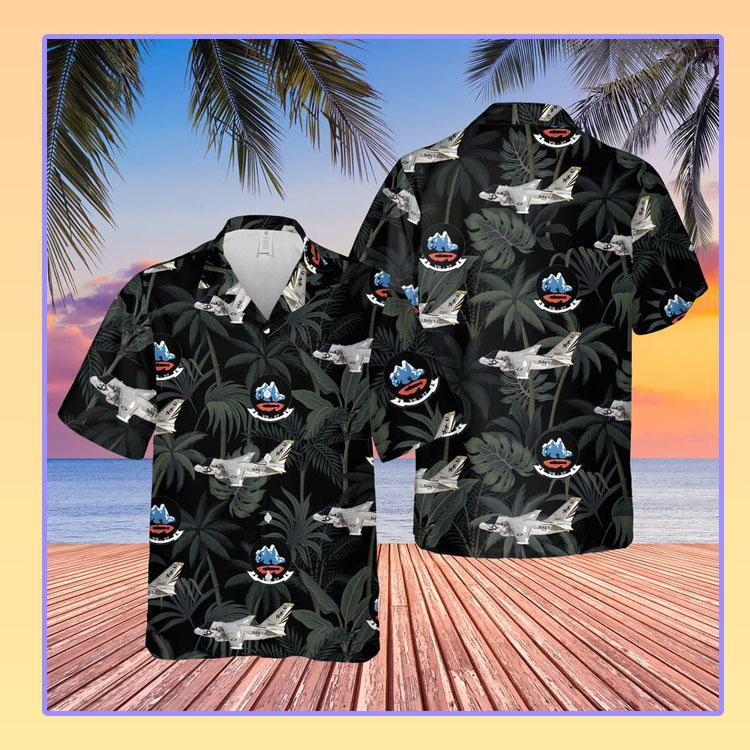 Us Navy Lockheed S 3 Viking Of Vs 37 Hawaiian Shirt2