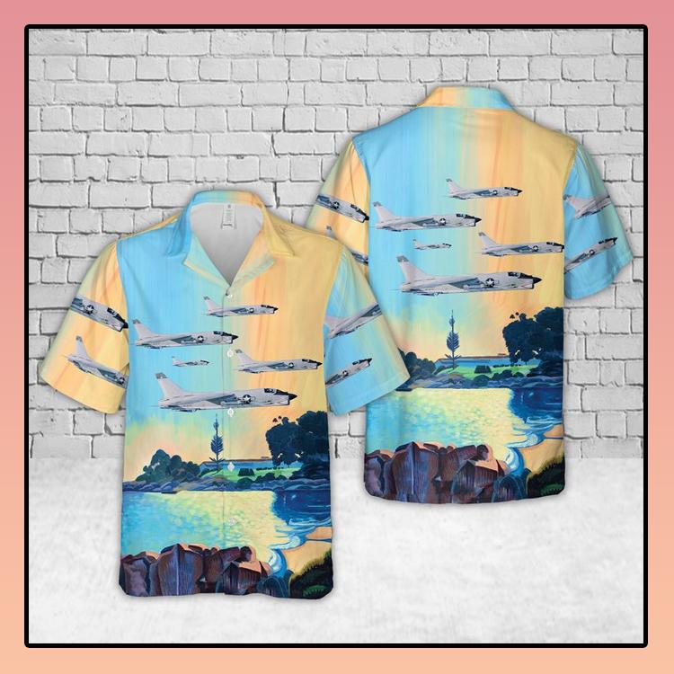 VC 7 Vought F 8 Crusader Hawaiian Shirt2