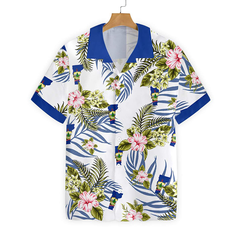 Vermont Proud Hawaiian Shirt