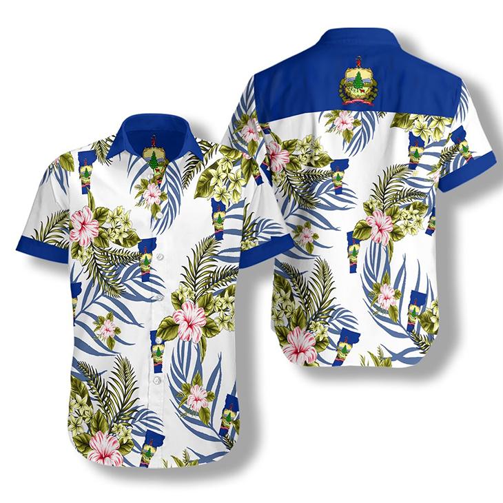 Vermont Proud Hawaiian Shirt2