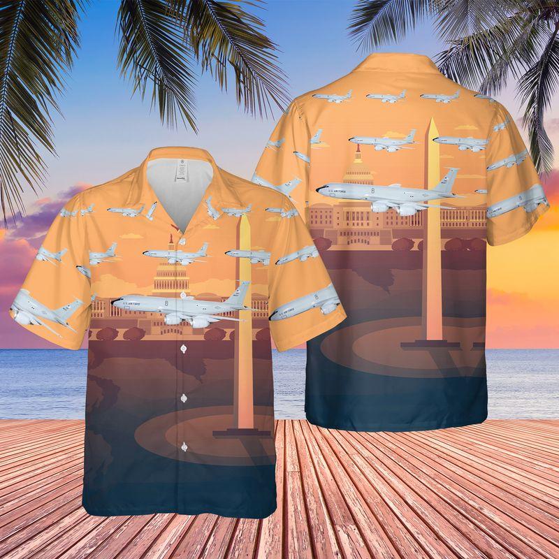 Washington Air National Guard 116th Air Refueling Squadron Hawaiian Shirt