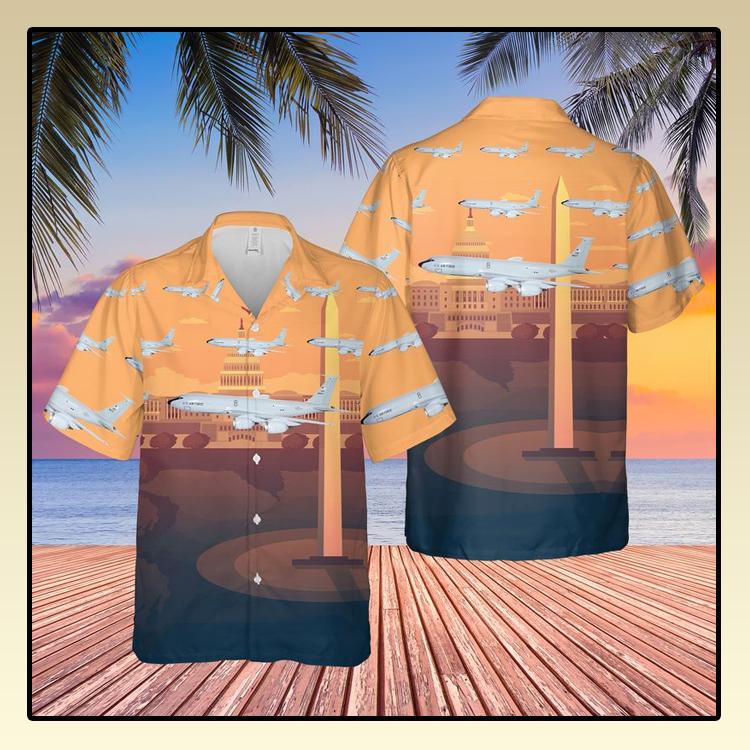 Washington Air National Guard 116th Air Refueling Squadron Hawaiian Shirt2