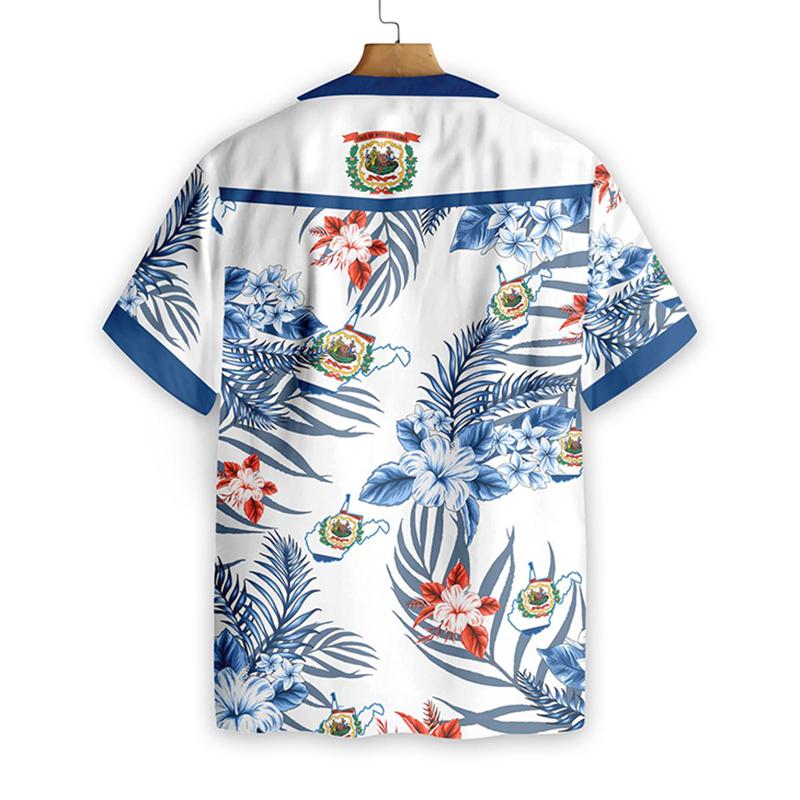 West Virginia Proud Hawaiian Shirt1