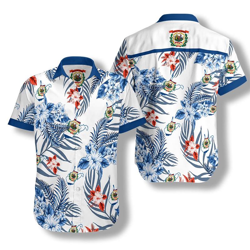 West Virginia Proud Hawaiian Shirt2