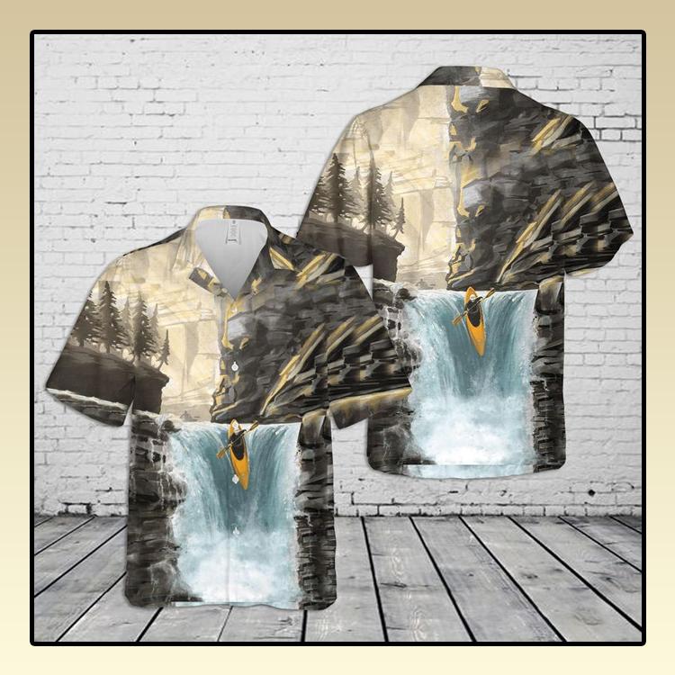 Whitewater Kayaking Hawaiian Shirt3 1