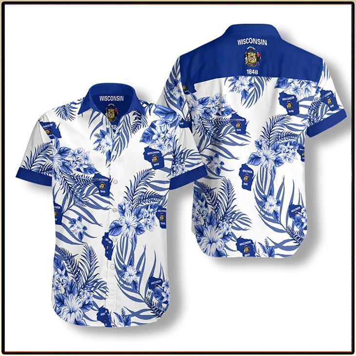 Wisconsin Proud Hawaiian Shirt 3