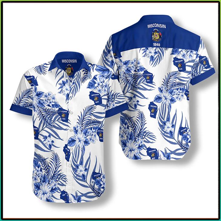 Wisconsin Proud Hawaiian Shirt 4