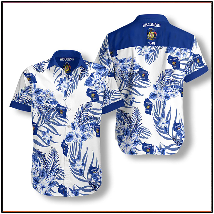 Wisconsin Proud Hawaiian Shirt