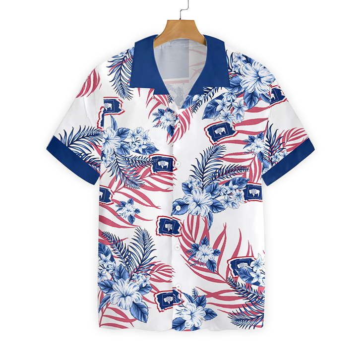 Wyoming Proud Hawaiian Shirt 1