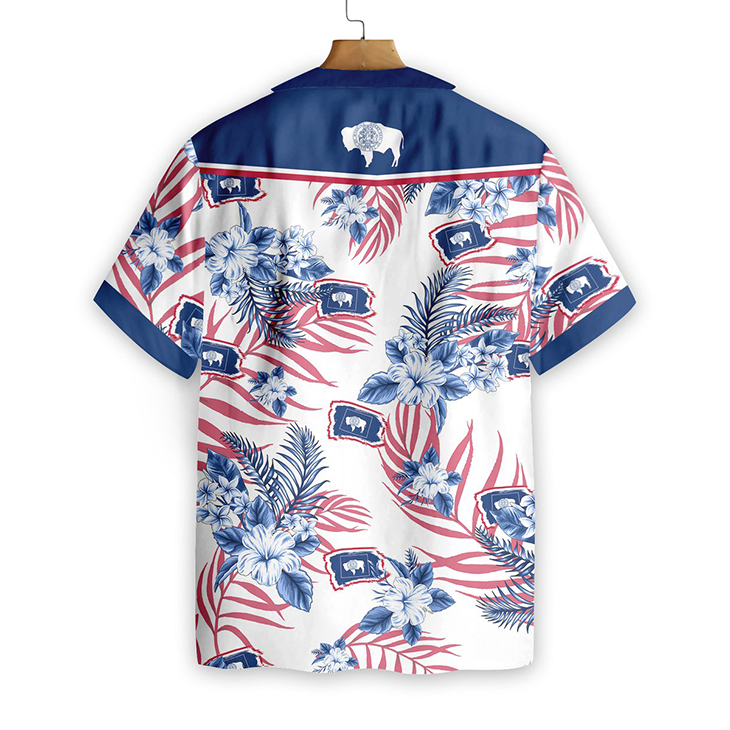 Wyoming Proud Hawaiian Shirt1