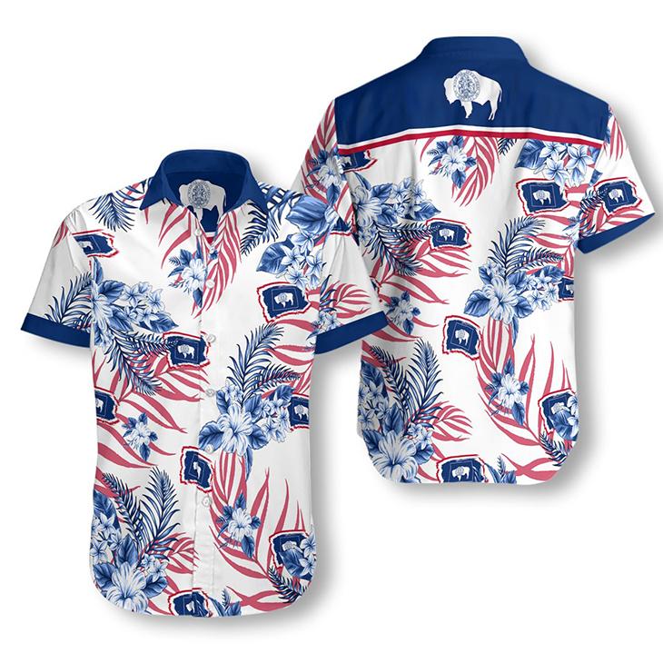Wyoming Proud Hawaiian Shirt2