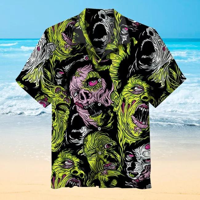 Zombie Commemorative Hawaiian Shirt
