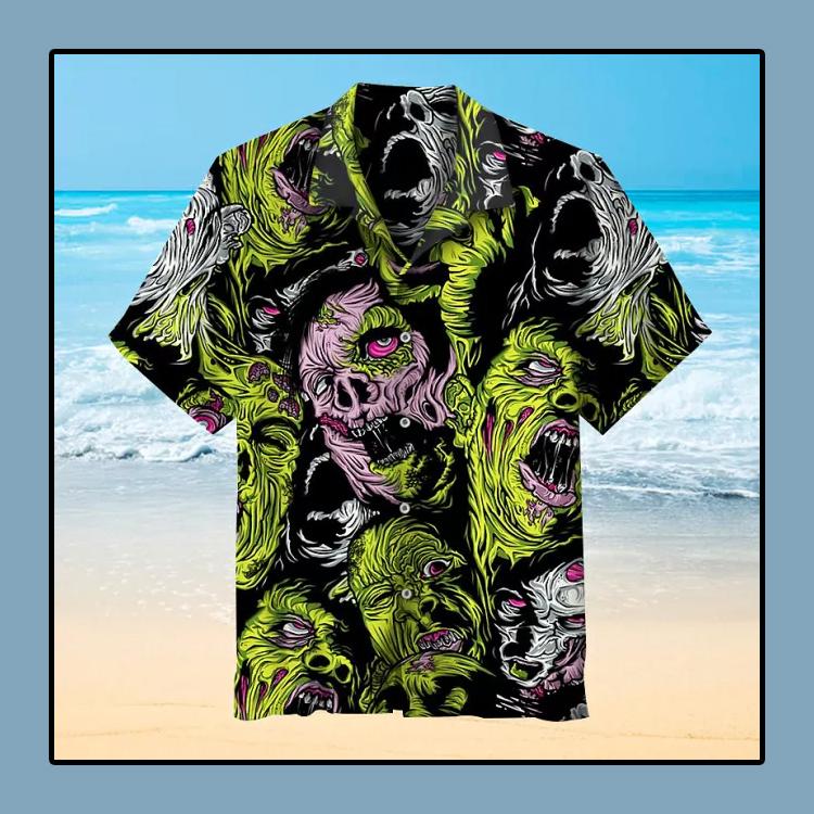Zombie Hawaiian Shirt