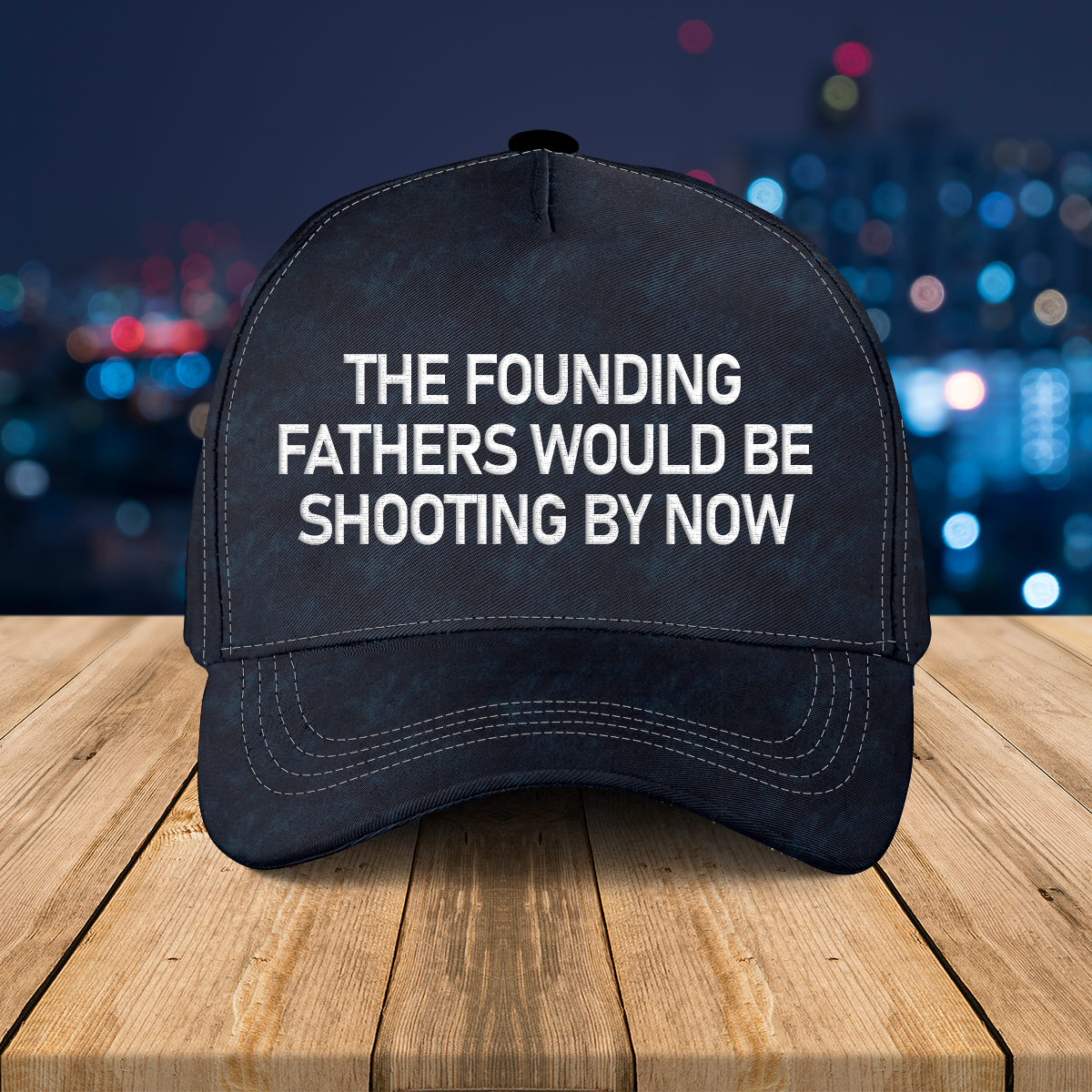 the founding fathers wouldbe shooting by now hat 3