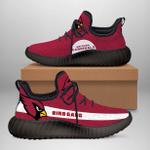 Arizona Cardinals yeeze high top Sneakers1