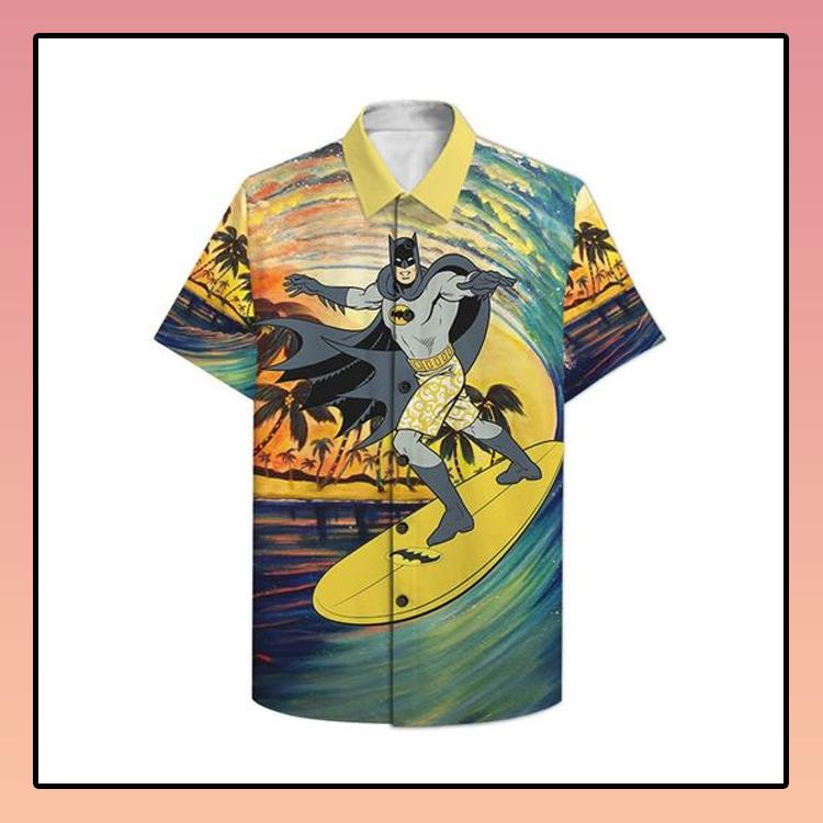 Batman Surfing Hawaiian Shirt2