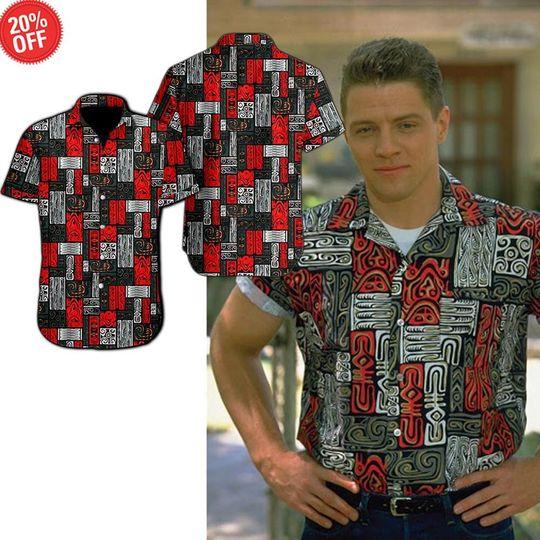 Biff Tannen Hawaiian Shirt And Short2