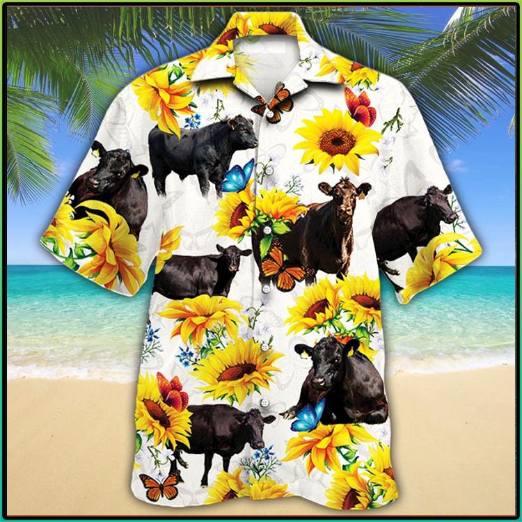 Black Angus Cattle Lovers Hawaiian Shirt9