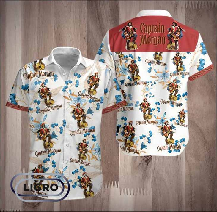 Captain Margan Hawaiian Shirt 1