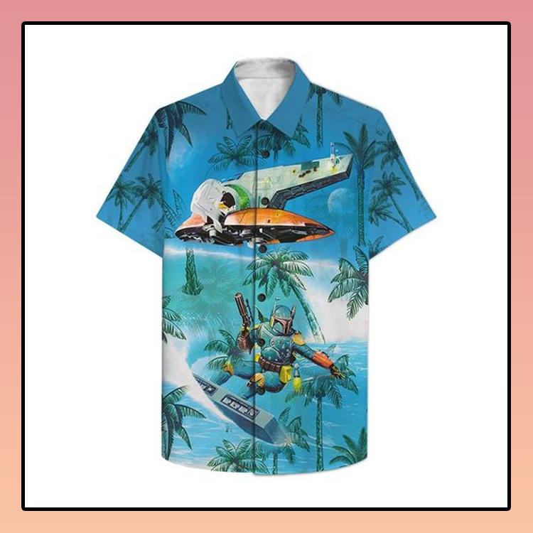 Dadalorian Surfing Hawaiian Shirt3