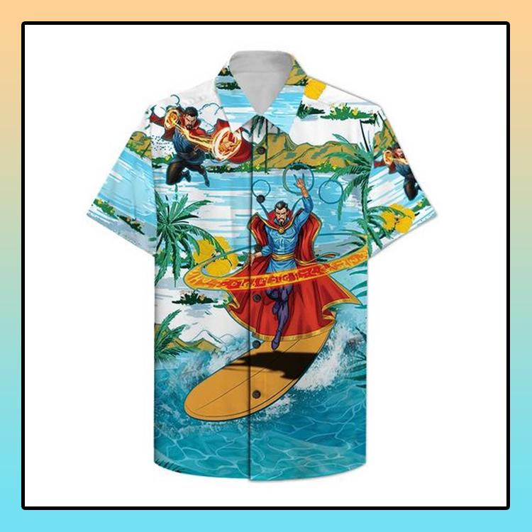 Doctor Strange surfing Hawaiian Shirt2