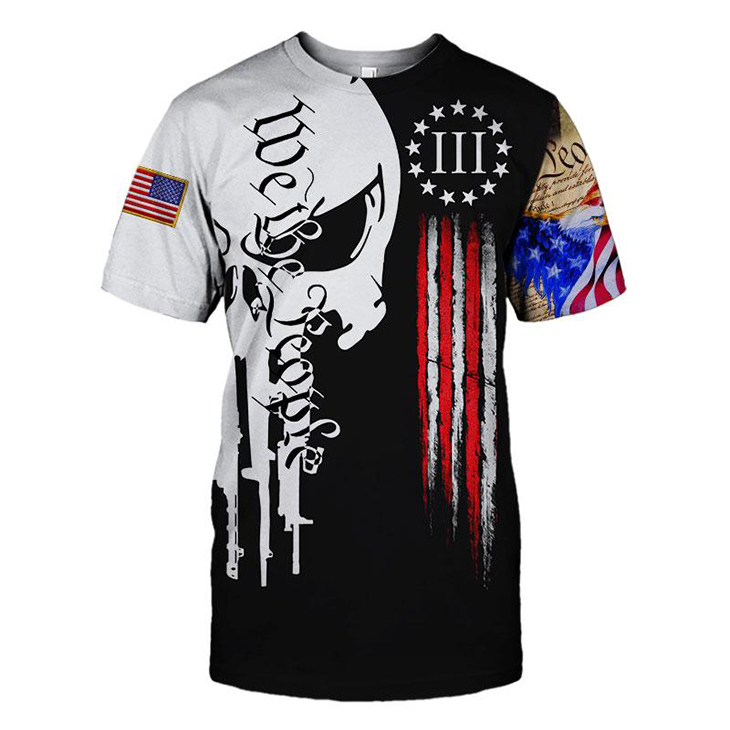 I Pledge Allegiance To The Flag Of The United States Of America 3d Hoodie And Tshirt2 1