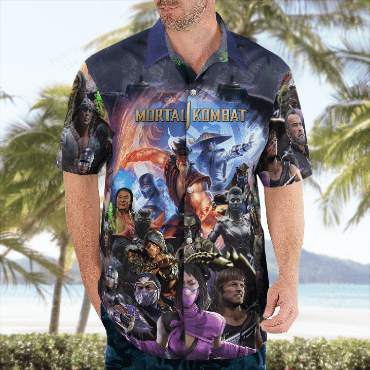 Mortal Kombat Hawaiian Shirt1 1