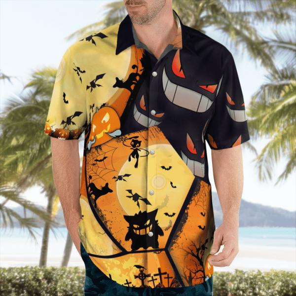 Pokemon hawaiian shirt3