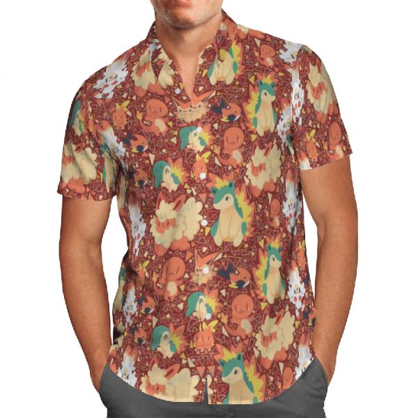 Pokemon hawaiian shirt4