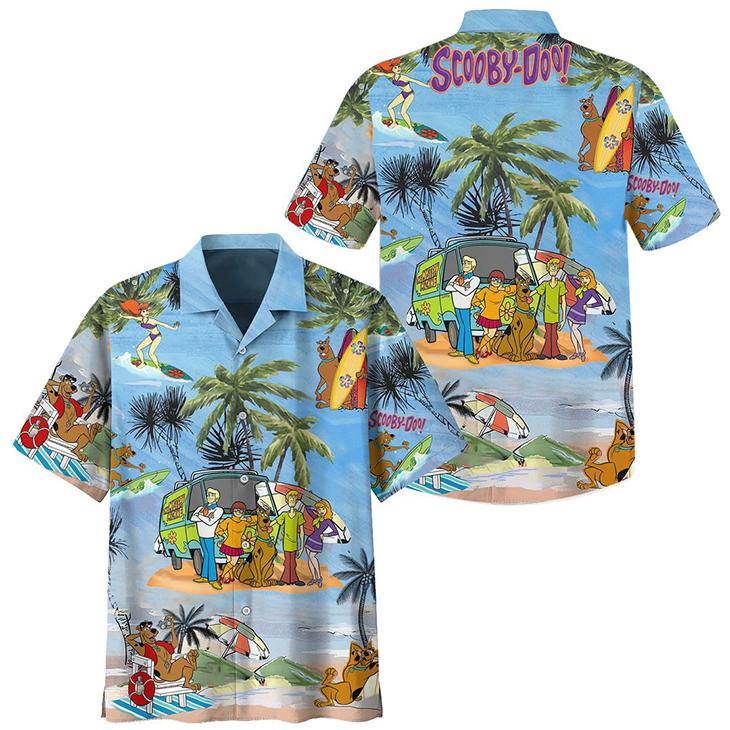 Preemium OSCBD Hawaiian Shirt And Short 1