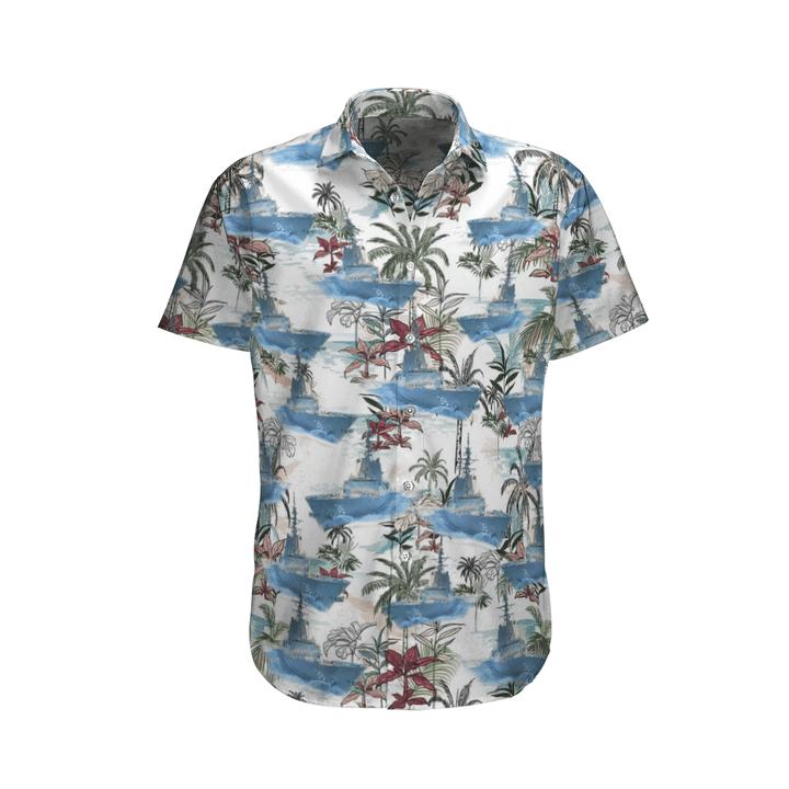 Royal australian navy hawaiian shirt 1