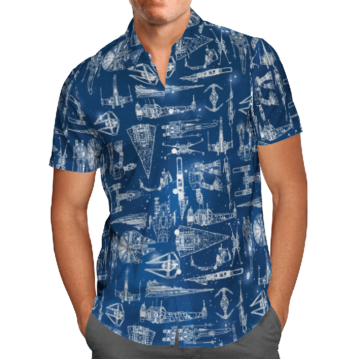 Star War Hawaiian Shirt1