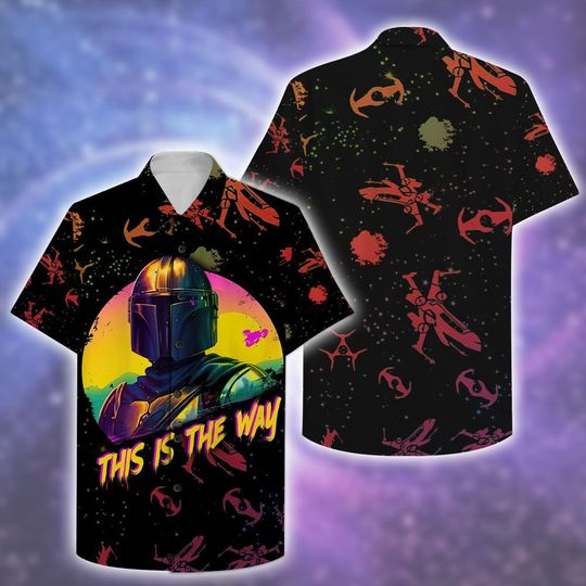 Star War This is The Way Hawaiian Shirt