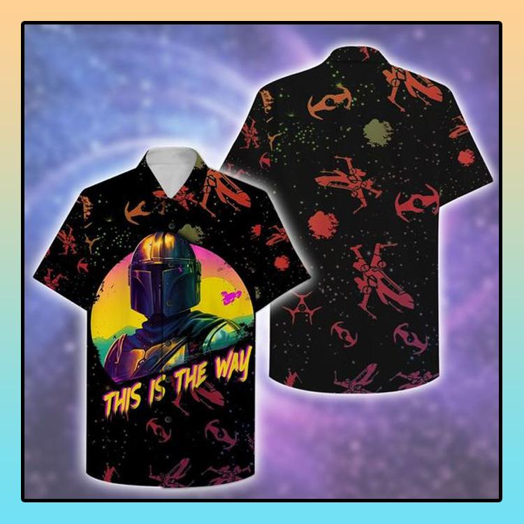 Star War This is The Way Hawaiian Shirt2
