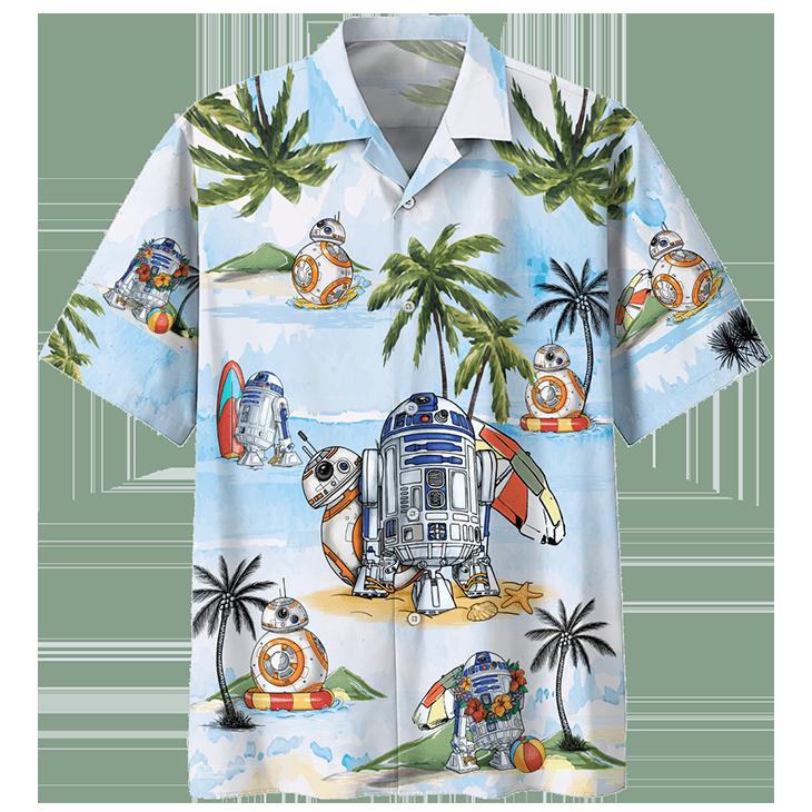 Summer Time Hawaiian Shirt2